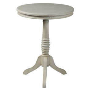 Willow Cottage White End Table