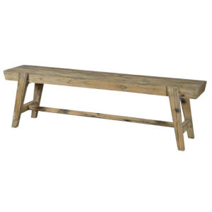Willow Driftwood Bench