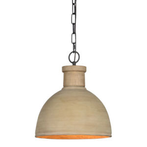 Sophia Beige One-Light Pendant