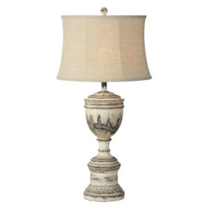 Hazel Weathered Brown One-Light Table Lamp
