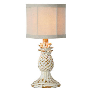 Hazel Antique White 14-Inch One-Light Table Lamp