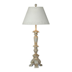 Charlotte Rustic Blue One-Light Table Lamp