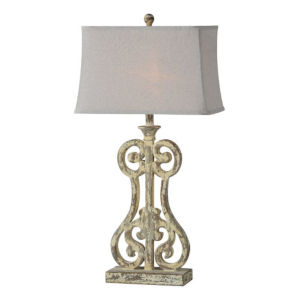 Partridge Antique Brown One-Light Table Lamp