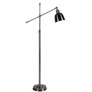 Jackson Brushed Nickel One-Light Floor Lamp