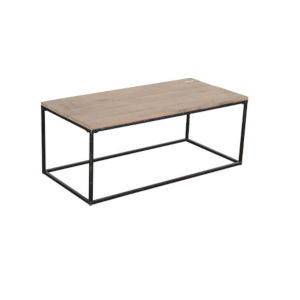 Jackson Natural and Black Coffee Table