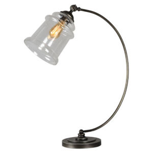Jackson Aged Metal One-Light Desk Lamp