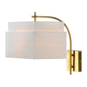Madison Gold One-Light Wall Sconce