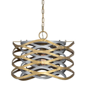 Madison Gold and Silver One-Light Pendant