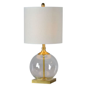 Madison Antique Brass One-Light Table Lamp
