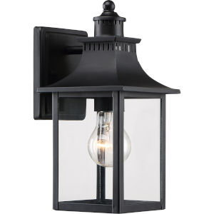 Bryant Black One-Light Outdoor Wall Sconce