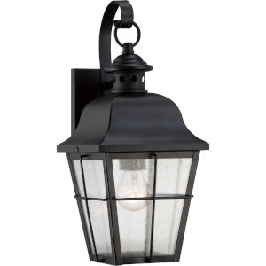 Bryant Black One-Light Outdoor Wall Fixture