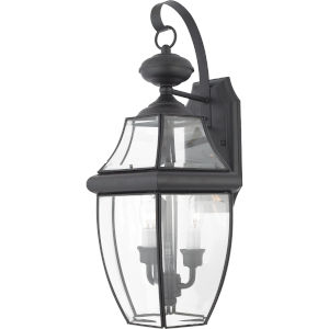 Bryant Black Two-Light Wall Lantern