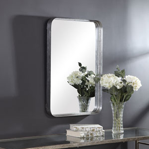 Selby Silver Rectangular Wall Mirror
