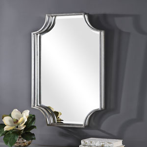 Evelyn Silver Framed Wall Mirror