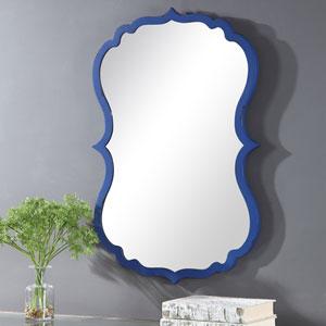 Uptown Blue Wall Mirror