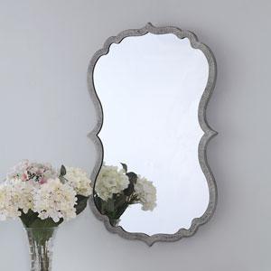 Uptown Gray Wall Mirror