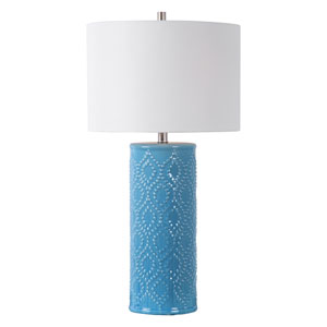 Isles Blue 29-Inch One-Light Table Lamp