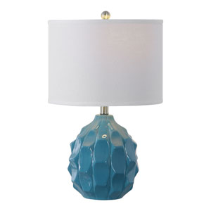 Isles Blue 21-Inch One-Light Table Lamp
