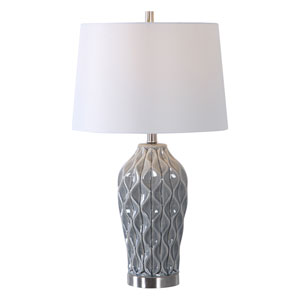 Linden Gray 27-Inch One-Light Table Lamp