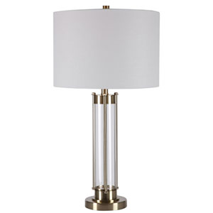 Loring Brass 29-Inch One-Light Table Lamp