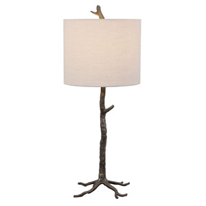 Claire Natural Iron 30-Inch One-Light Table Lamp