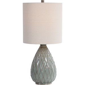 Linden Blue 27-Inch One-Light Table Lamp