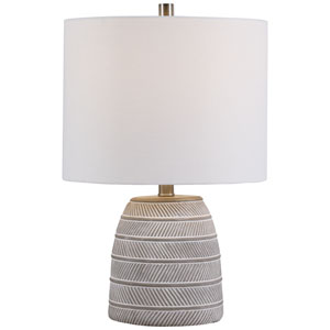 Linden Gray 20-Inch One-Light Table Lamp