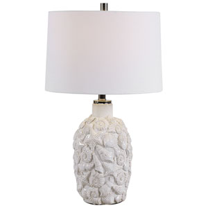 Linden White 26-Inch One-Light Table Lamp