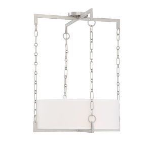 Loring Satin Nickel Four-Light Pendant