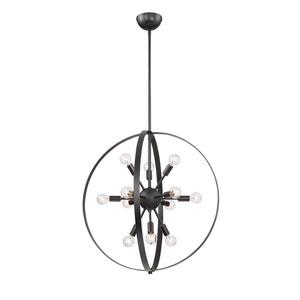 Artemis Classic Bronze 12-Light Chandelier