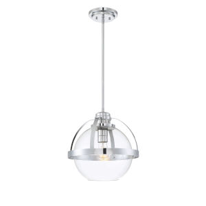Irving Polished Chrome One-Light Pendant