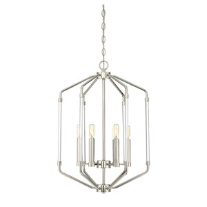 Essex Polished Nickel Six-Light Pendant