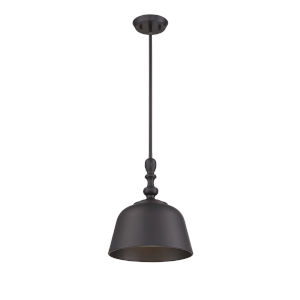 Kate English Bronze 12-Inch One-Light Pendant