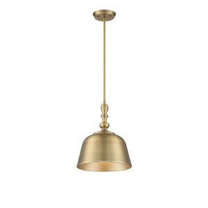 Kate Warm Brass One-Light Pendant