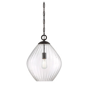 Kate English Bronze 16-Inch One-Light Pendant