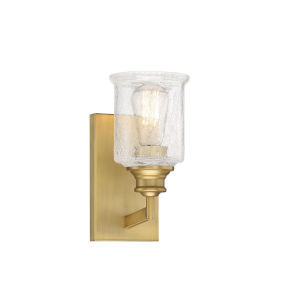 Isles Warm Brass One-Light Bath Vanity