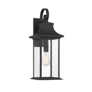 Elle Black One-Light Outdoor Wall Sconce