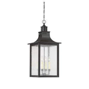 Elle Slate Four-Light Outdoor Pendant