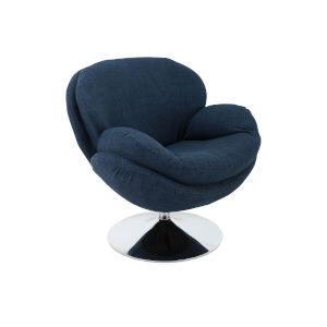 Nicollet Denim Lounge Chair