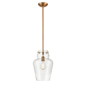 York Heirloom Bronze One-Light Pendant