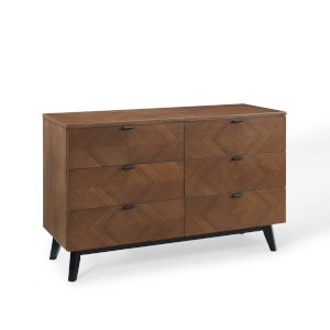 Uptown Walnut Dresser