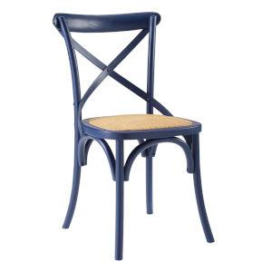 Hayden Midnight Blue 20-Inch Dining Side Chair
