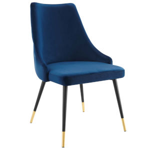 Cooper Navy Dining Side Chair