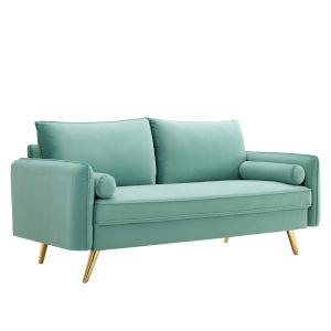 Vivian Mint Upholstered Sofa
