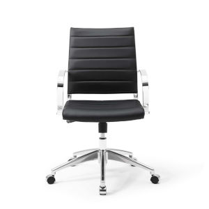 Selby Black Mid Back Office Chair
