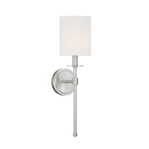 Lyndale Brushed Nickel One-Light Wall Sconce