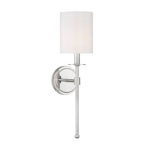 Lyndale Polished Nickel One-Light Wall Sconce