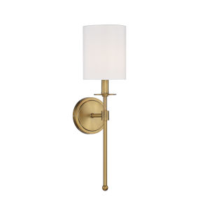 Lyndale Natural Brass One-Light Wall Sconce