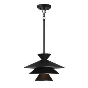 Essex Matte Black One-Light Pendant