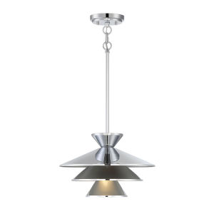Essex Chrome One-Light Pendant